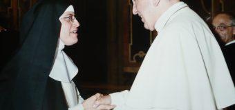 El encuentro de una monja con el Papa: Una experiencia inolvidable