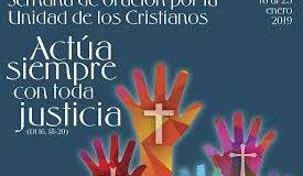 Semana de oración por la unidad de los cristianos