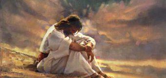 El Espíritu lo fue llevando por el desierto, mientras era tentado