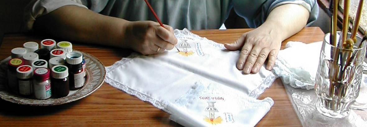 pintura y decoración textil